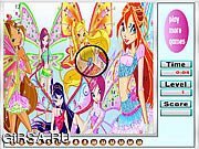 Butterfly Girls Hidden Numbers