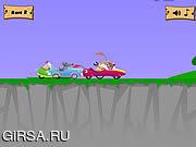 Флеш игра онлайн Собачьи бега / Canine Cruisers