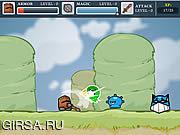 Флеш игра онлайн Храбрый рыцарь