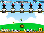 Флеш игра онлайн Яичко цыпленка