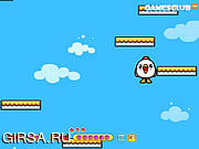 Флеш игра онлайн Цыпленок скачет / Chicken Jump