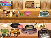 Флеш игра онлайн Chicken Wings And Garlic Bread