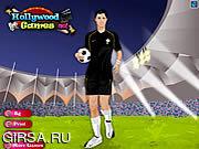 Флеш игра онлайн Christiano Ronaldo Dressup