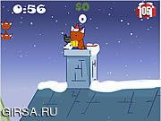 Флеш игра онлайн Christmas Cat