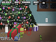 Флеш игра онлайн Christmas Defense