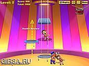 Флеш игра онлайн Circus Acrobats