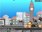Флеш игра онлайн Городская осада