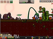 Флеш игра онлайн Городская осада 4 - Осада чужих