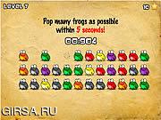 Флеш игра онлайн Click The Frog