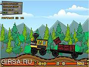 Флеш игра онлайн Доставка угля