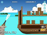 Флеш игра онлайн Coastal Cannon