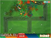 Флеш игра онлайн Color Tanks