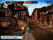 Флеш игра онлайн Военная зона / Combat Zone Shooter