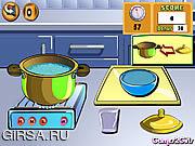 Флеш игра онлайн Варить выставку: Рис цыпленка зажаренный / Cooking Show: Chicken Fried Rice