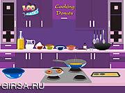 Флеш игра онлайн Cooking Donut