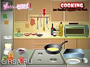 Флеш игра онлайн Cooking Jam Pancakes Flamed With Kirsch
