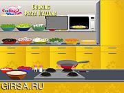 Флеш игра онлайн Cooking Pizza Italiana