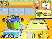 Флеш игра онлайн Варить Breadrolls выставки / Cooking Show Breadrolls