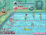 Флеш игра онлайн Cool Smimming Pool