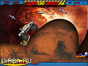 Флеш игра онлайн Космические Колеса