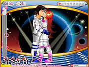 Флеш игра онлайн Cosmo Kiss