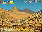 Флеш игра онлайн Сумасшедшие колеса / Crazy Wheels