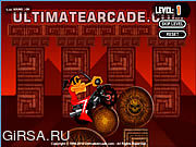Флеш игра онлайн Жуткий Всадник 2 / Creepy Rider 2