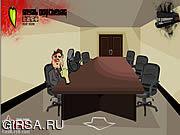 Флеш игра онлайн Псих в офисе 3