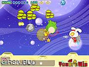 Флеш игра онлайн Кролик против монстров / Cute Rabbit vs Monsters
