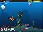 Флеш игра онлайн Опасные Дэн: легенды семи морей / Dangerous Dan: Legends of the Seven Seas