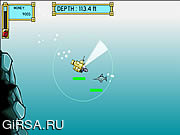 Флеш игра онлайн Глубокий Морской Охотник