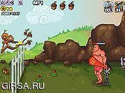 Флеш игра онлайн Defend Your Nuts