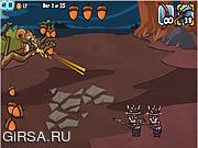 Флеш игра онлайн Защита орехов 2