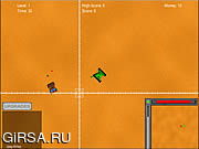 Флеш игра онлайн Пустыня Танковая Атака / Desert Tank Attack
