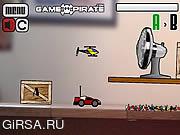 Флеш игра онлайн Настольный Вертолет