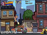 Флеш игра онлайн Пес - разрушитель / Destructo Dog