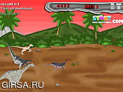 Флеш игра онлайн Динозавры в Панике