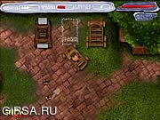 Флеш игра онлайн Стоянка автомобилей 2 динозавров лиловая / Dinosaurs Violet Parking 2