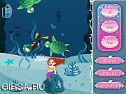 Флеш игра онлайн Diving For Love