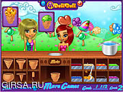 Флеш игра онлайн Doli Ice Cream Frenzy