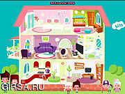 Флеш игра онлайн Куклы дома