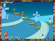 Флеш игра онлайн Domino Fall 2