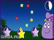 Флеш игра онлайн Даша проводник - звездообразная ловля
