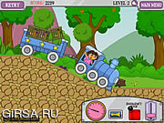 Флеш игра онлайн Dora Train Express