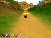 Флеш игра онлайн Горные Боулинг / Downhill Bowling