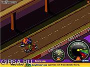Флеш игра онлайн Гонка за лидером / Drag Race