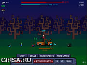 Флеш игра онлайн Dude and Zombies