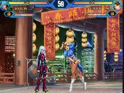 Флеш игра онлайн King of Fighters Wing 1.8