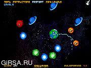 Флеш игра онлайн Evil Asteroids