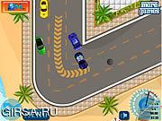 Флеш игра онлайн Экзотическая гонка / Exotic Cars Racing